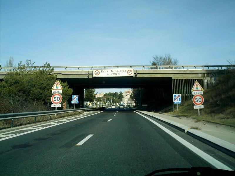 Autoroute française A516 (Ancien tronçon)
