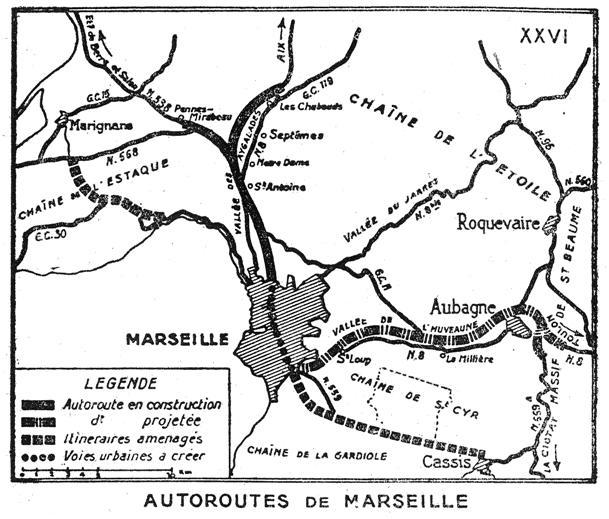 Autoroute française A50 (Historique)