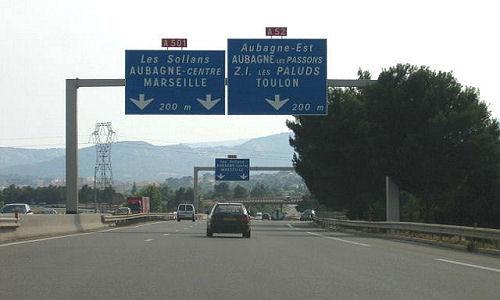 Autoroute française A501