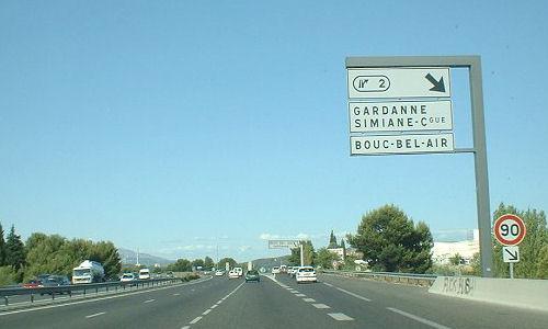 Autoroute française A515
