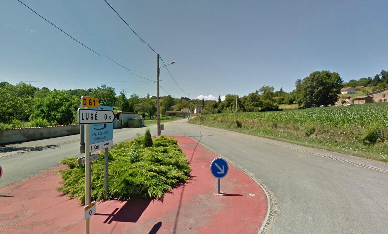 Route départementale française D61 (42)