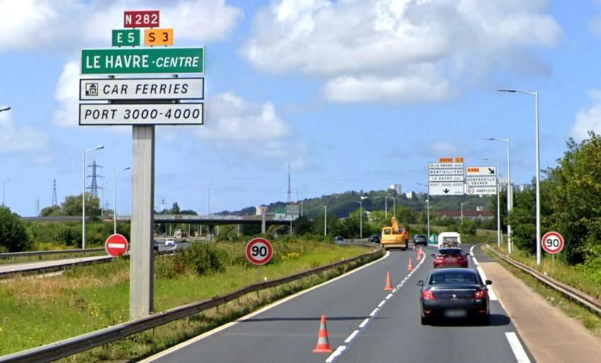Route nationale française 282