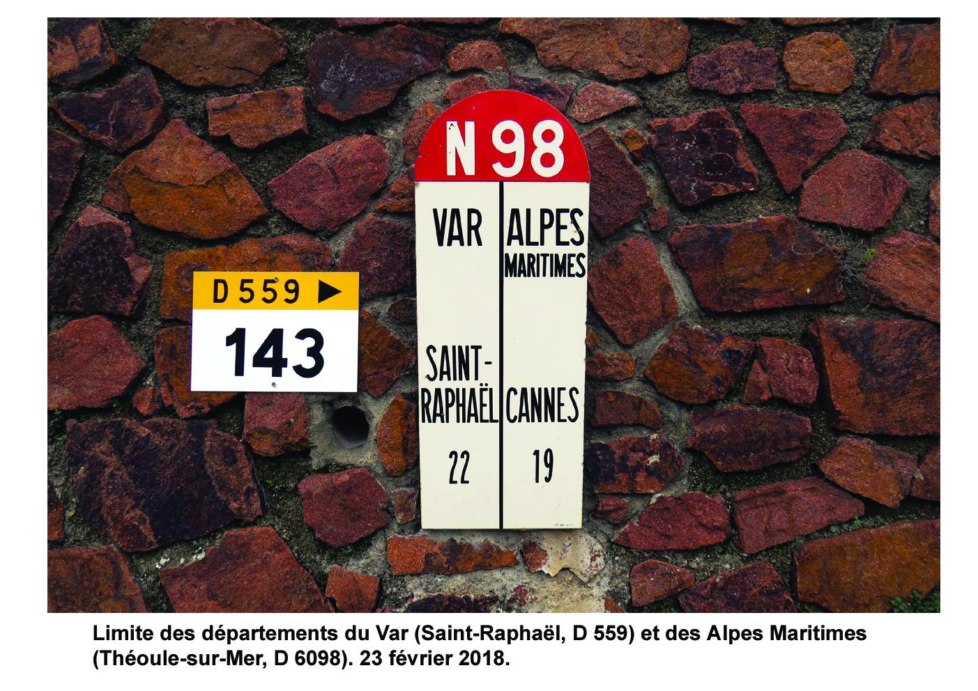 Carte de localisation des Panneaux Michelin du Var (83)
