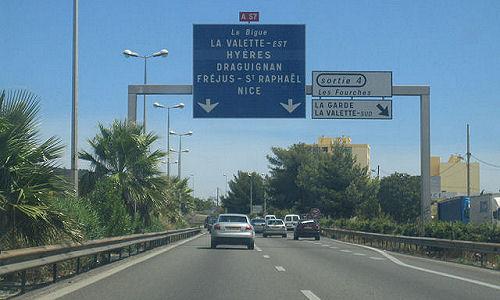 Autoroute française A57