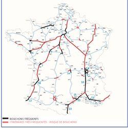 Liste des principaux embouteillages en France