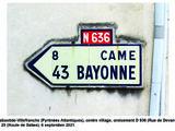 Route nationale française 636