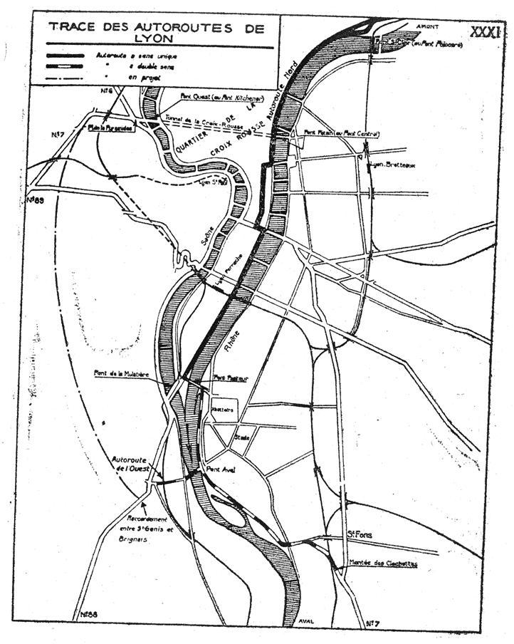 Autoroute française A7 (Historique)