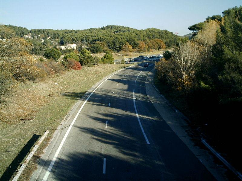 Autoroute française A552