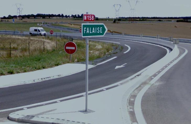 Route nationale française 158
