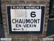Plaque Michelin 60D006 - Enencourt-le-Sec