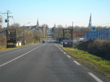 La N147 à Moulismes