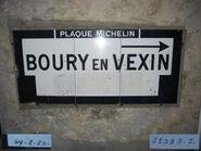 Plaque Michelin 60D006 - Vaudancourt