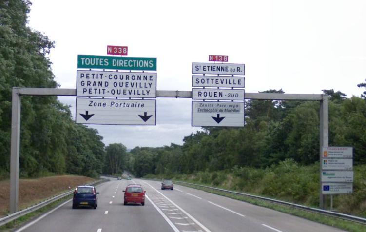 Route nationale française 338
