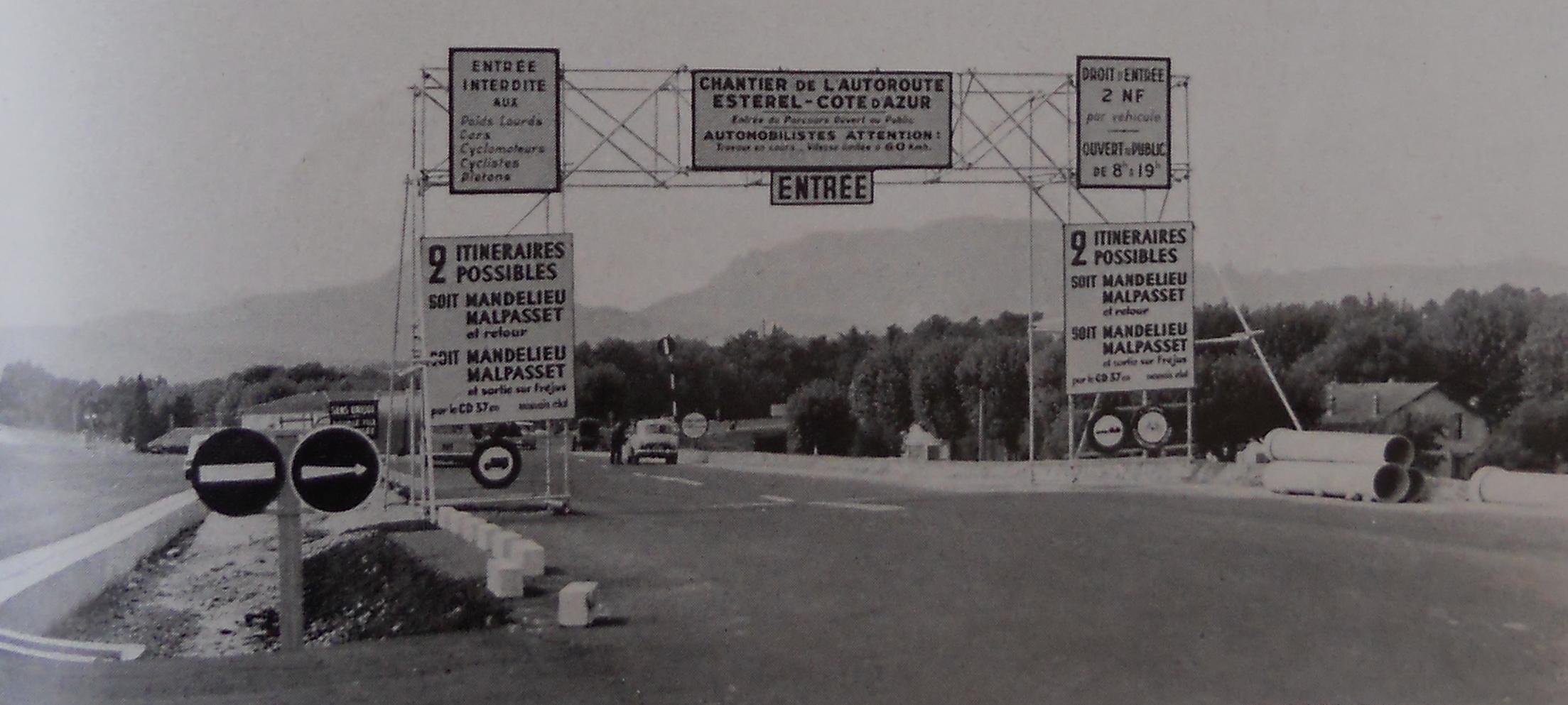 Autoroute française A8 (Historique)