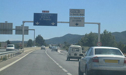 Autoroute française A570
