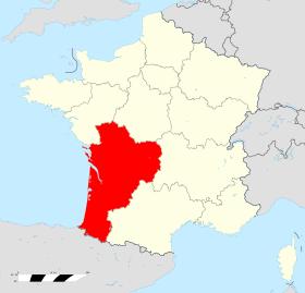 Localisation de la région. - © Wikimedia