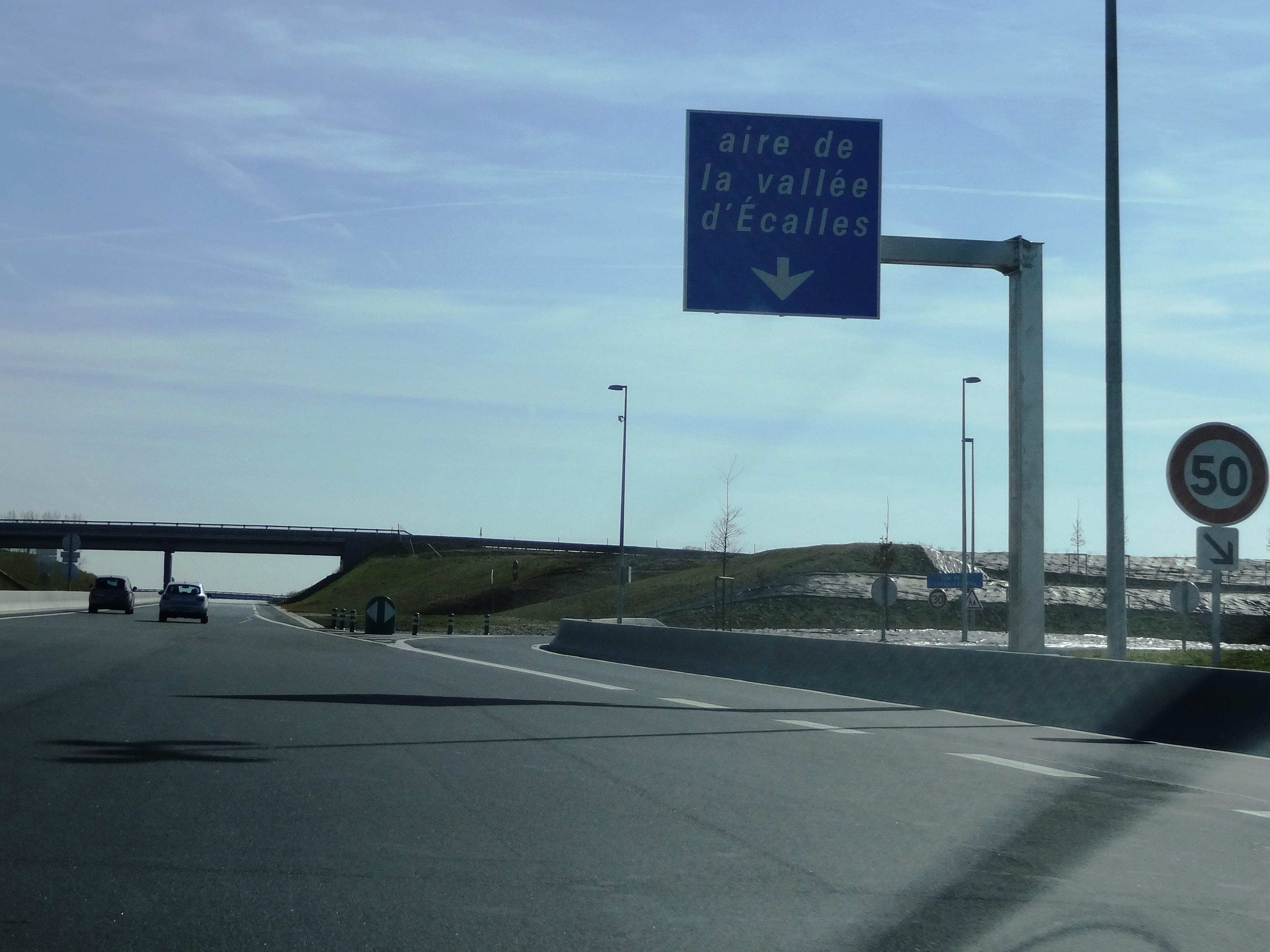 Autoroute française A150 (Aires)