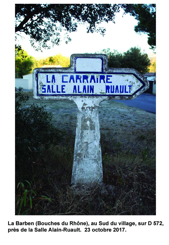 Carte de localisation des Panneaux Michelin des Bouches-du-Rhône (13)