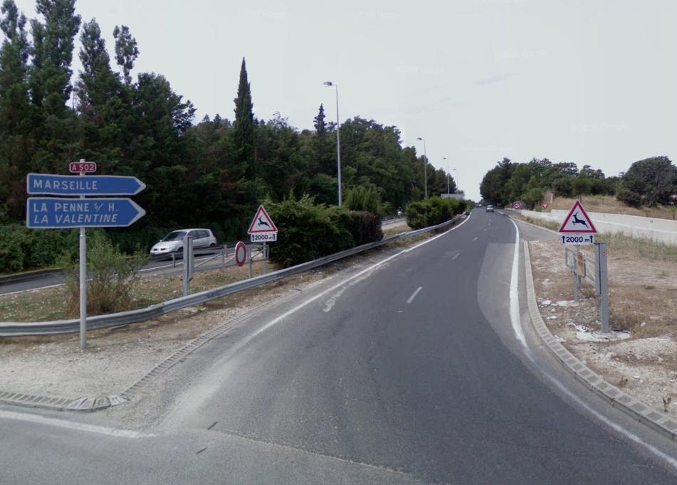 Autoroute française A502