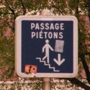 Passage piétons-souterrain