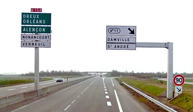 Route nationale française 154