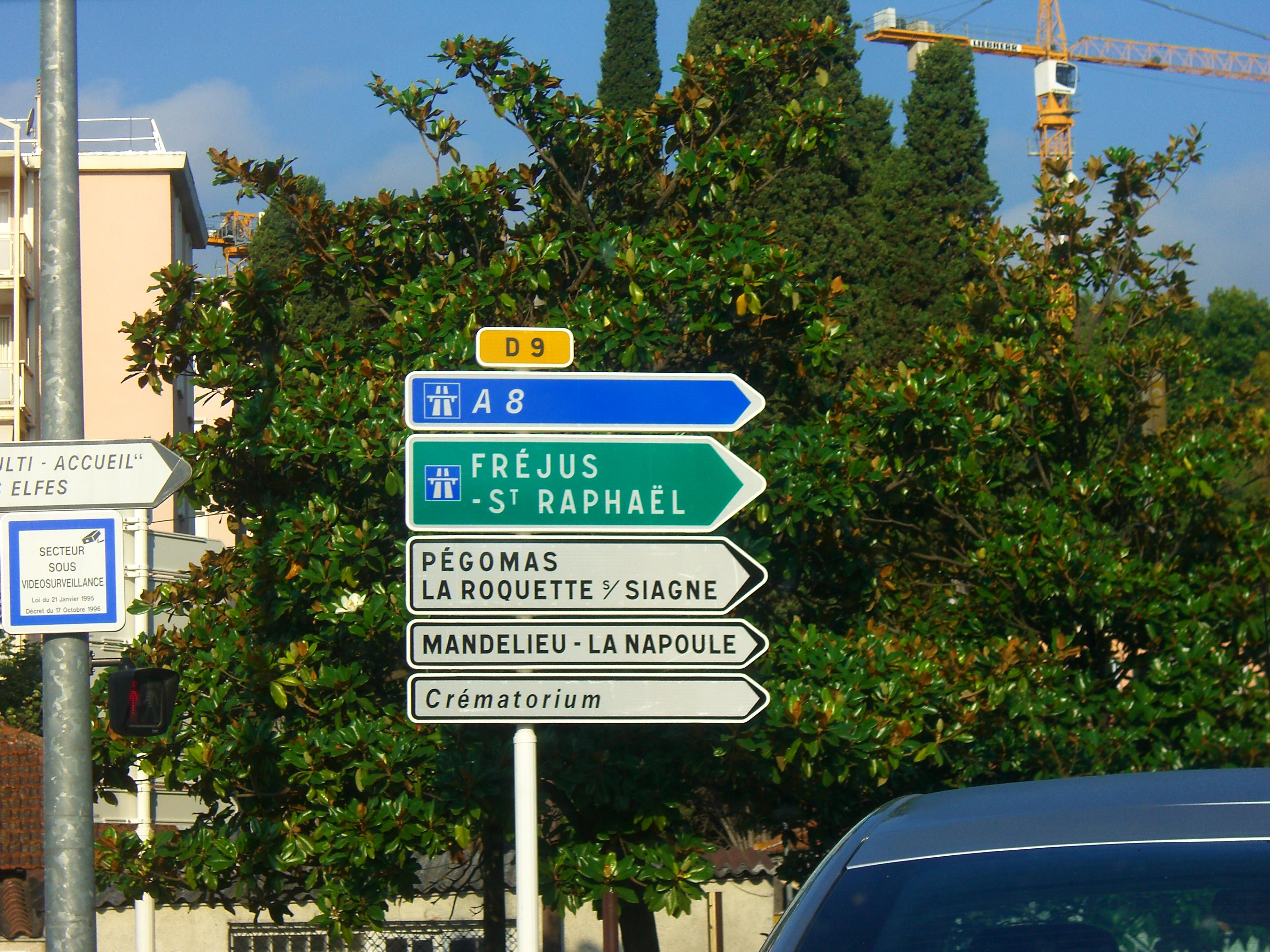 Route départementale française D9 (06)
