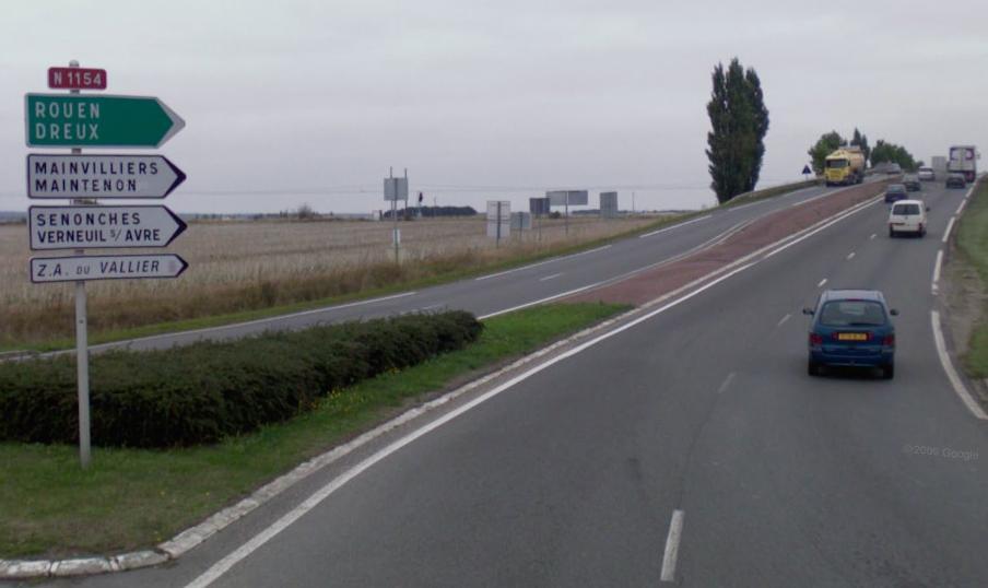 Route nationale française 1154
