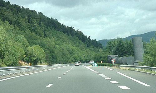 Autoroute française A89 (Aires)