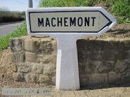 Poteau direction 60D015 - Machemont