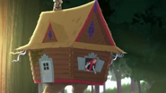 Baba Yaga in her office - Thronecoming