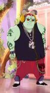 Just Sweet - green beast guy