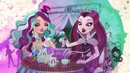 Raven & Maddie having a Tea Party