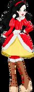 Apple White with black hair (Christmas - alphacobalt44)