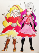 Apple White & Raven Queen (devilkaoniy)