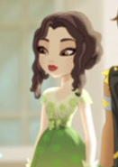 Wavy Dressed Girl