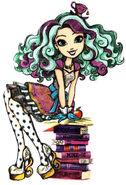 Book art - Madeline Hatter basic sitting
