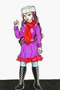 Raven Queen - Christmas (EshiSnu)
