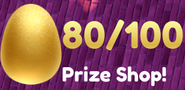 Easter 2021 Golden Egg Counter - 80 out of 100