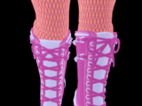 Shadow Empress Chained Boots