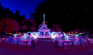 Easter 2021 Fountain when player is in Minigame Bubble