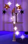 NY2021 Spinning Sparkler Stand