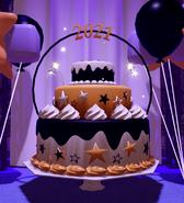 NY2021 Giant Cake