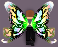 Rainbow Shamrock Butterfly Wings