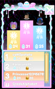 Easter 2021 Minigame Leaderboard