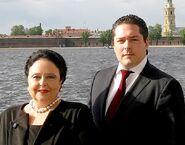 Maria Vladimirovna Romanova und Georgi Michailovitsch Romanov