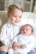 George und Charlotte Mountbatten-Windsor