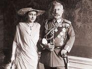 Hermine und Wilhelm II