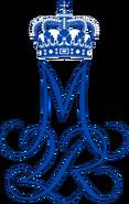 Royal Monogram of Margrethe II of Denmark