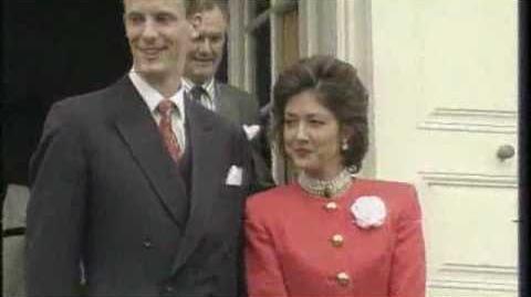 Engagement of Prince Joachim & Miss Alexandra Cristina Manley & May 31st, 1995