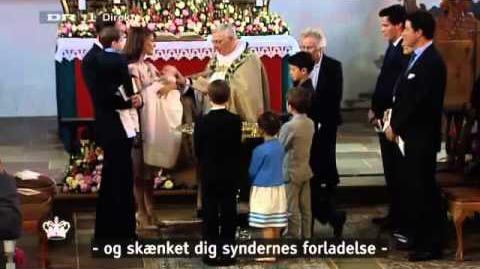 Christening of Princess Athena (2012)